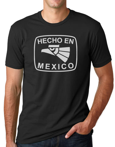 Think Out Loud Apparel Hecho En Mexico Funny T-Shirt Mexican Humor Tee