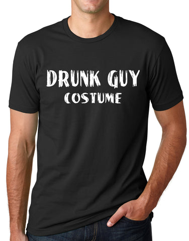 Think Out Loud Apparel Drunk Guy Costume Funny Halloween Shirt Drinking Humor Tee