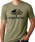 Think Out Loud Apparel Vegetarian Tree T-Shirt