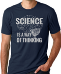 Think Out Loud Apparel Science is a Way of Thinking Funy Atheist T Shirt