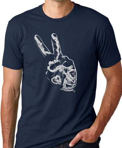 Think Out Loud Apparel Peace Out T-Shirt Peace Sign Tee