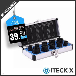 iTech-x™ : Kit extracteur de boulons Sets d'outils ShinyHome Store Long