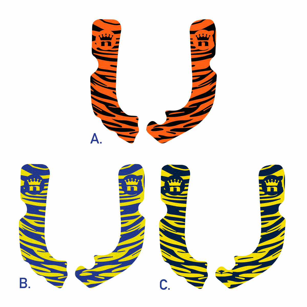 Nihilo Concepts FRAME GRIP TAPE Tiger Tape Collection - Limited Edition - Exotic Grip Tape