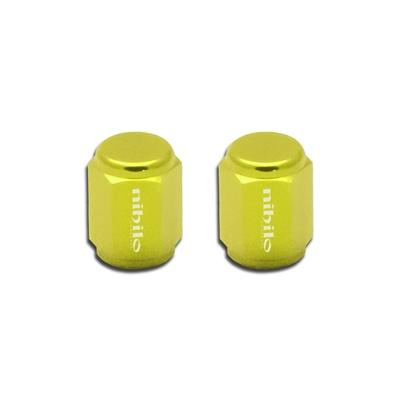 Nihilo Concepts Air Valve Stem Cap Yellow Air Valve Stem Cap