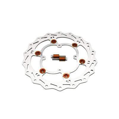 wmr1 Orange KTM/Husqvarna 85 Oversized Front Brake Rotor Kit 2013-2020