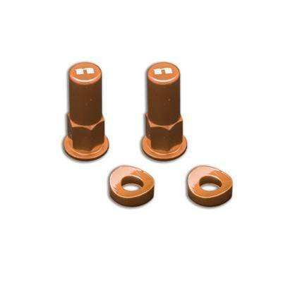 wmr1 Orange Rim Lock Nut Kit