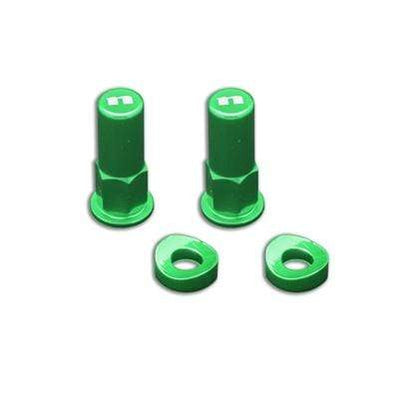 wmr1 Green Rim Lock Nut Kit