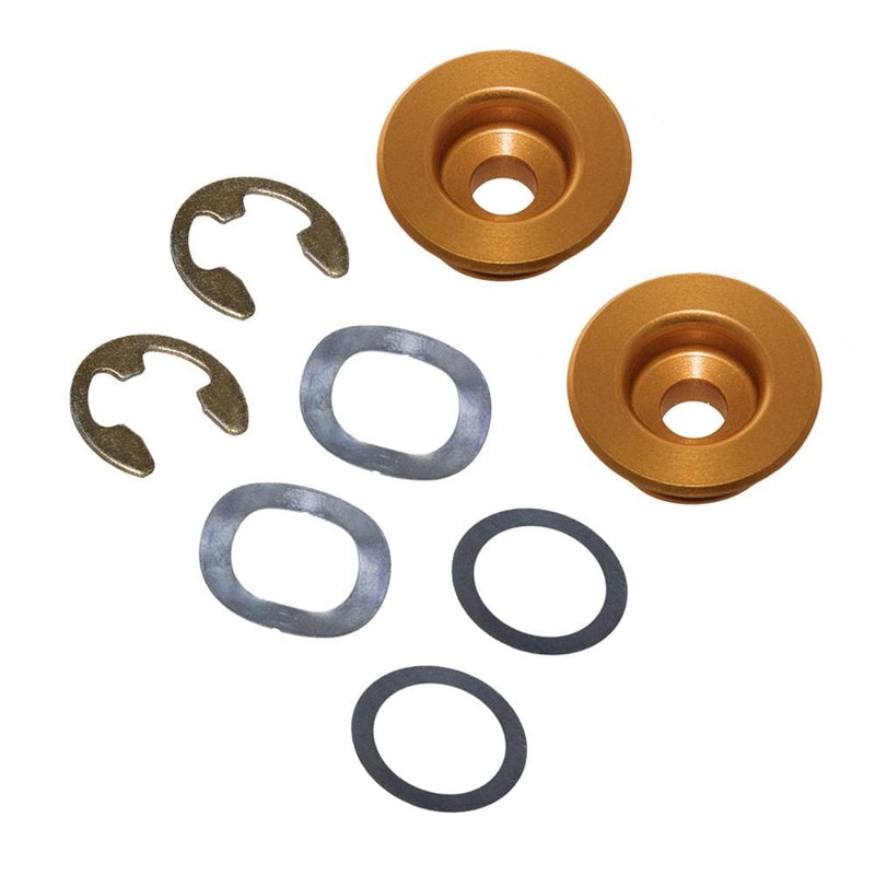 Nihilo Concepts Blue Oversized Front Brake Rotor Replacement Grommet Kit