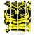 wmr1 Black & Yellow +$9.99 / 2002-2019 Yamaha YZ 85 Radiator Louver Graphics 2002-2019