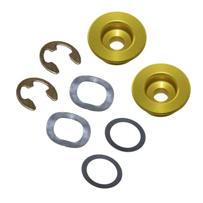 Oversized Front Brake Rotor Replacement Grommet Kit