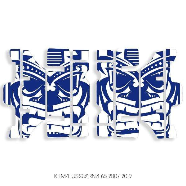 wmr1 White & Blue +$9.99 / 2007-2019 KTM/Husqvarna 65 Radiator Louver Graphics 2007-2020