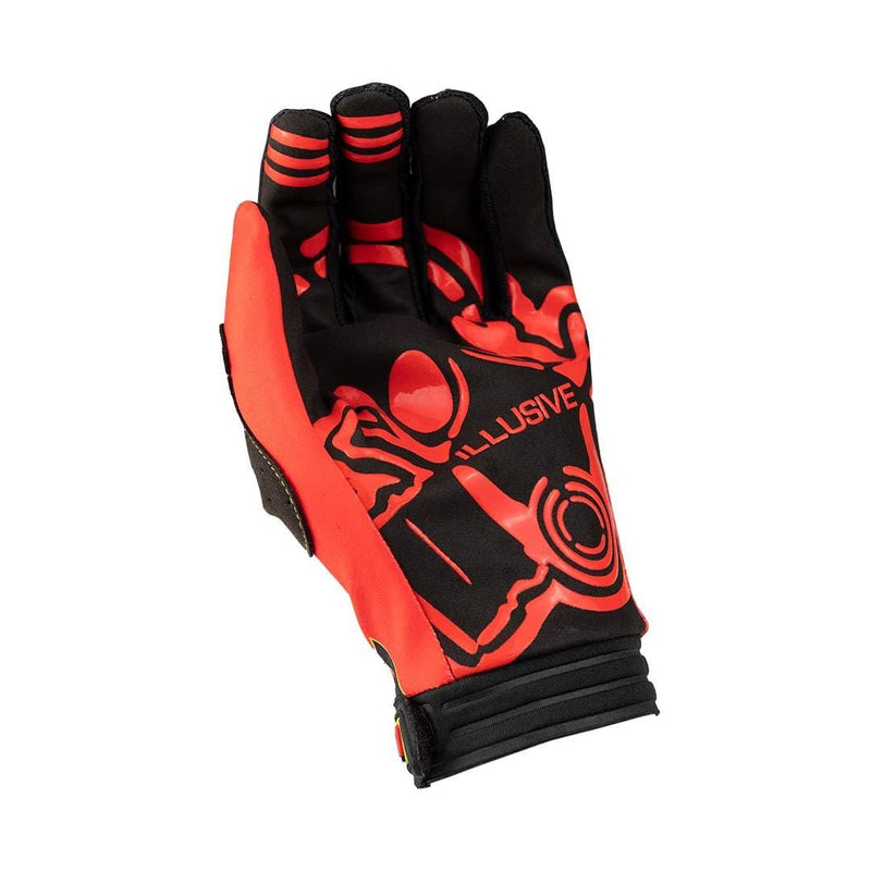 Nihilo Concepts Gloves X-Small Nihilo Concepts Red / Flo Glove by Illusive Gloves (Adult)
