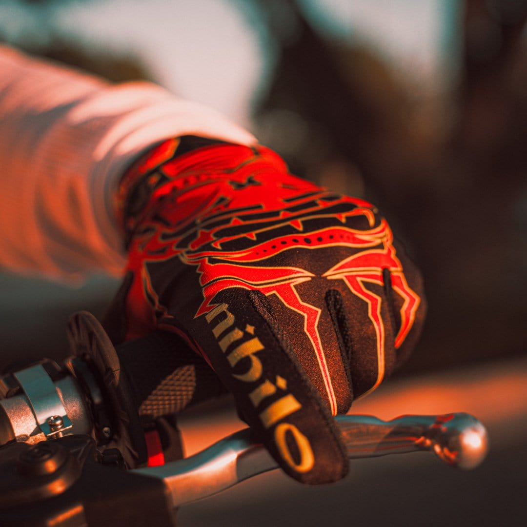 Nihilo Concepts Gloves Nihilo Concepts Red / Flo Glove by Illusive Gloves (Youth)