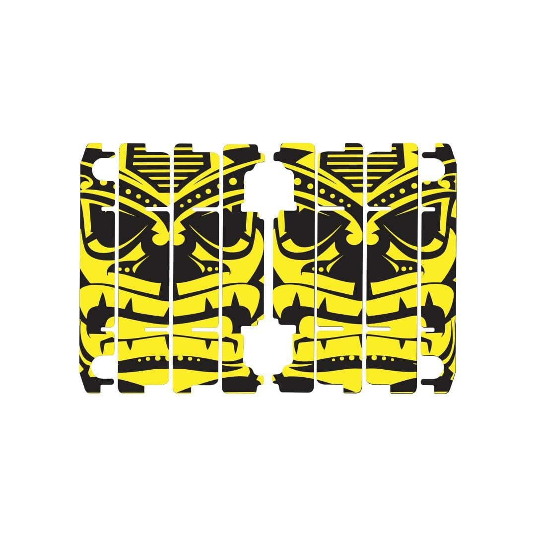 Nihilo Concepts Louver Graphics Black & Yellow +$9.99 / 2015-2021 Yamaha YZ 125 Radiator Louver Graphics 2015-2021