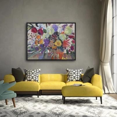 Color Me Pretty (Giclee Print)