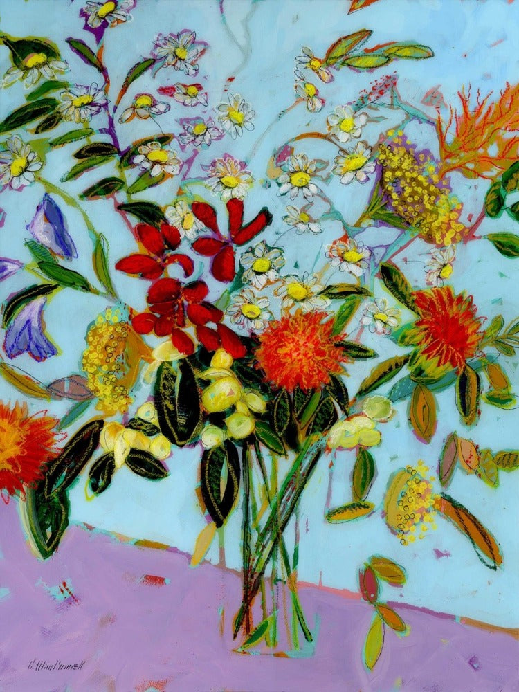 Crazy for Daisies (Giclee Print)