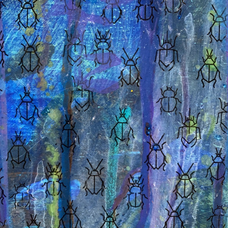 detail-of-pandemic-response-original-painting-in blue-and-teal_by-carol-macconnell