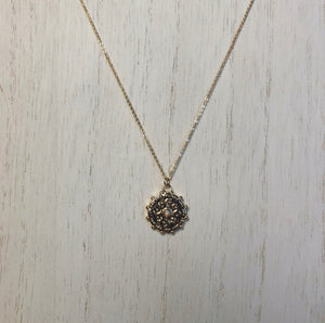 Kate Pendant Necklace (Gold-Filled)