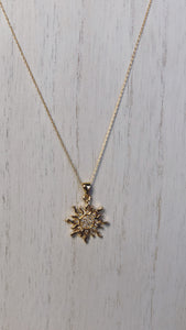 Rosa Pendant Necklace (Gold-Filled)