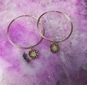 Nova Hoop Earrings (Gold-Filled)