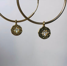 Load image into Gallery viewer, Reagan Hoop Earrings (Gold-Filled)