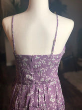 Load image into Gallery viewer, Lavendar Floral Dress
