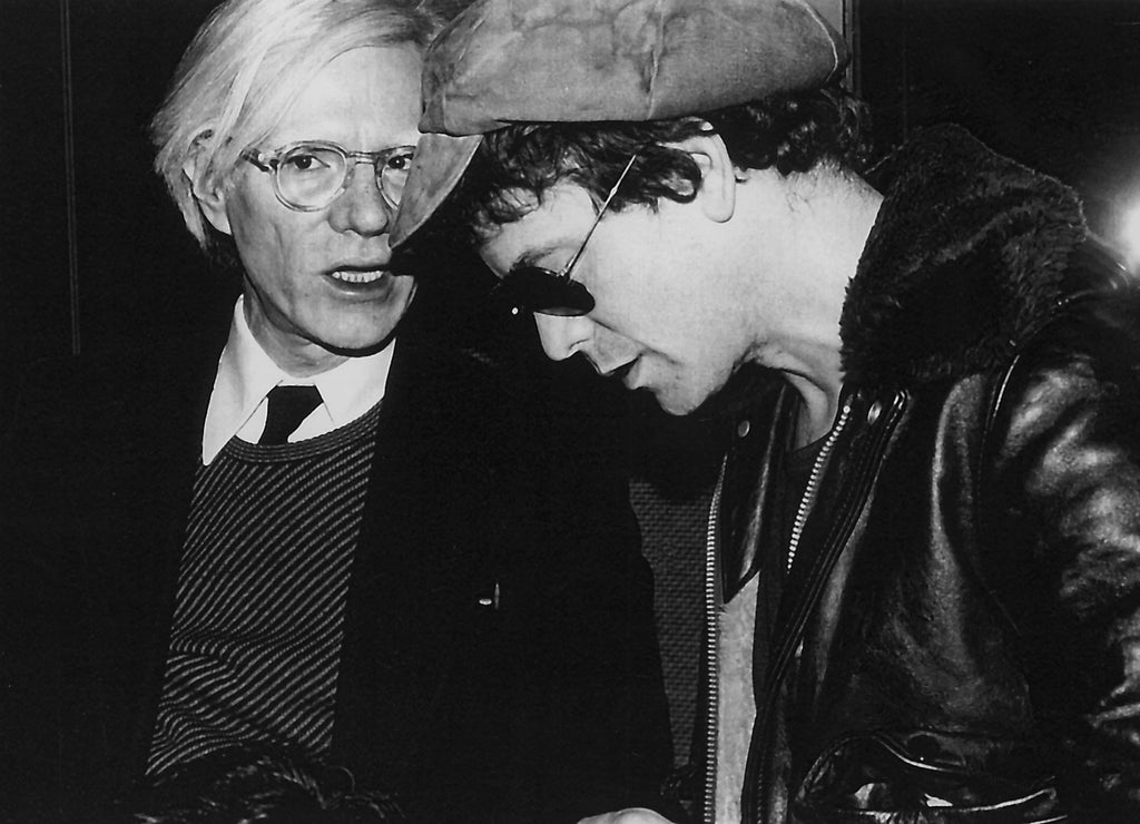 Andy Warhol & Lou Reed by Rose Hartman