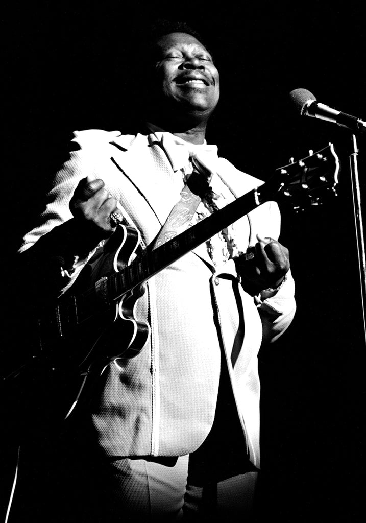 BB King by Richard E. Aaron