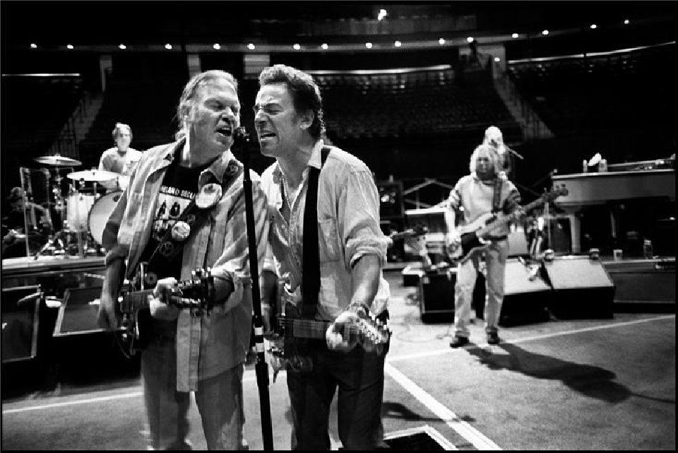 Bruce Springsteen & Neil Young by Danny Clinch