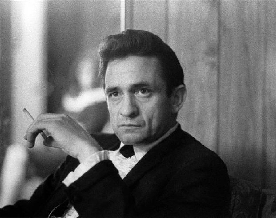 Johnny Cash by Baron Wolman