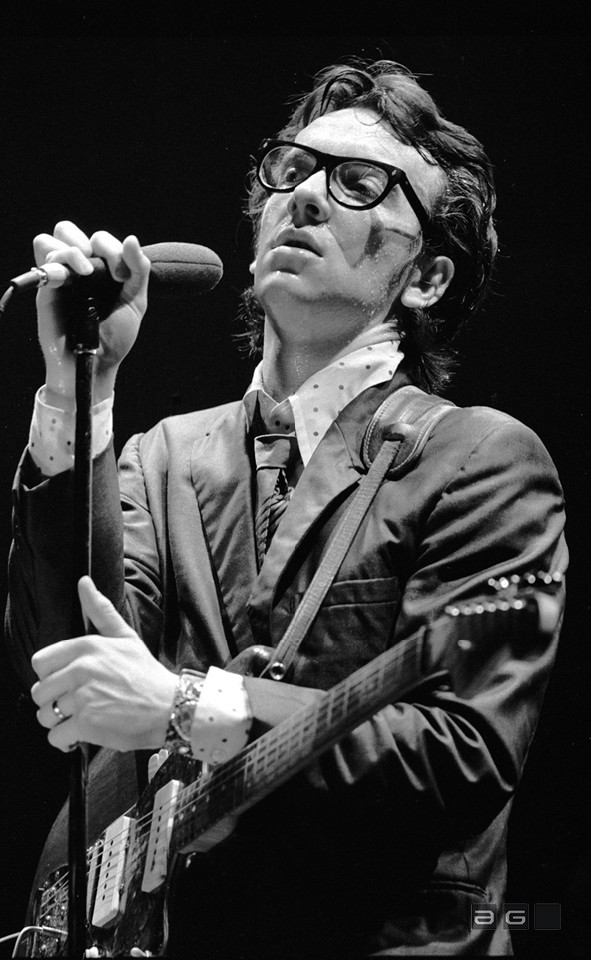 Elvis Costello by Patrick Harbron