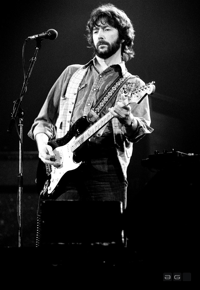 Eric Clapton by Patrick Harbron