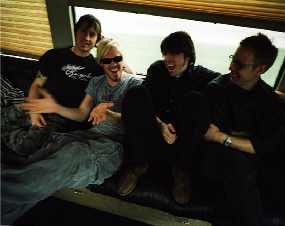 Foo Fighters by Danny Clinch