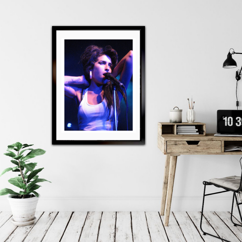 Amy Winehouse - Framed 18x24 Image