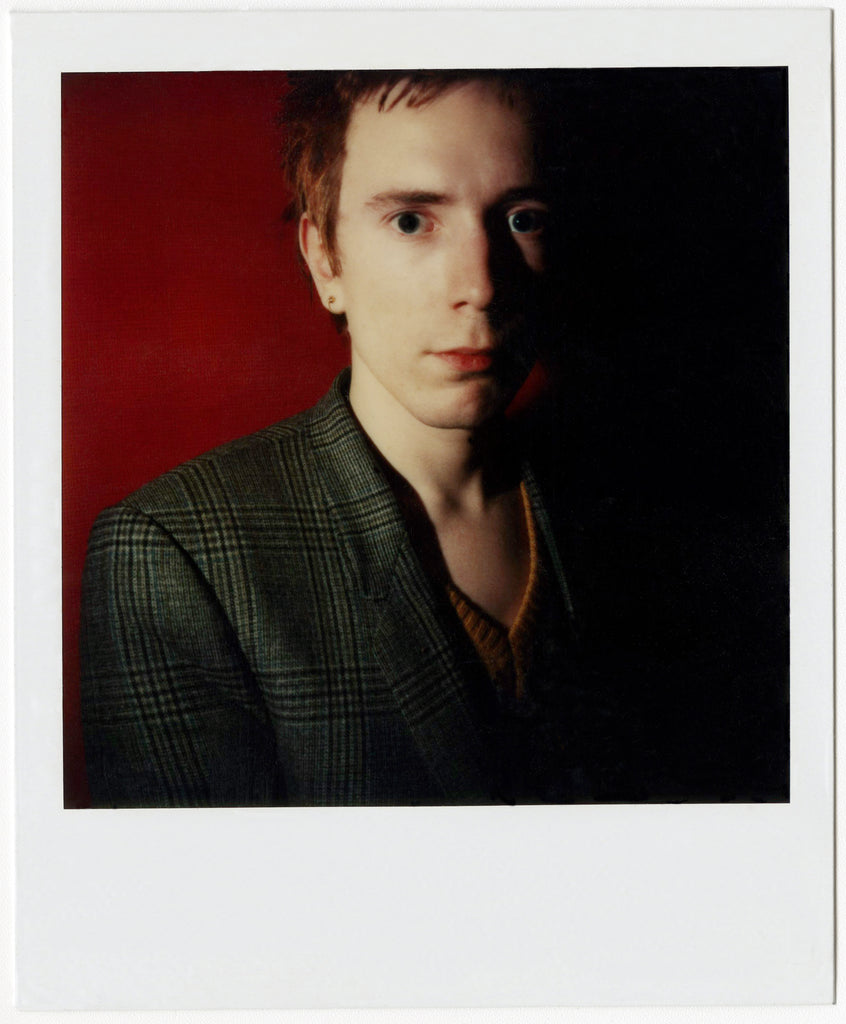 "Johnny ""Rotten"" Lydon Polaroid by Brad Balfour"