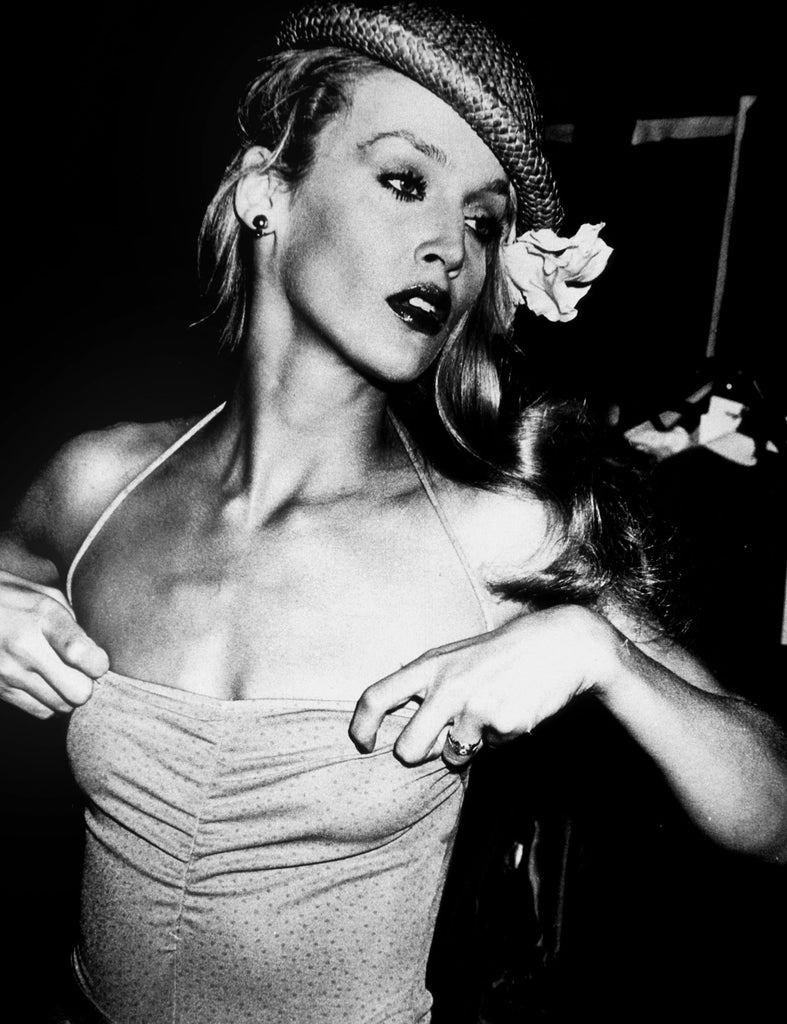 Jerry Hall by Rose Hartman
