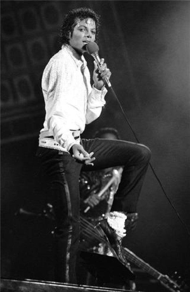 Michael Jackson by Patrick Harbron