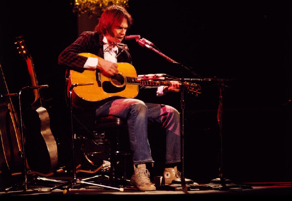 Neil Young by Patrick Harbron