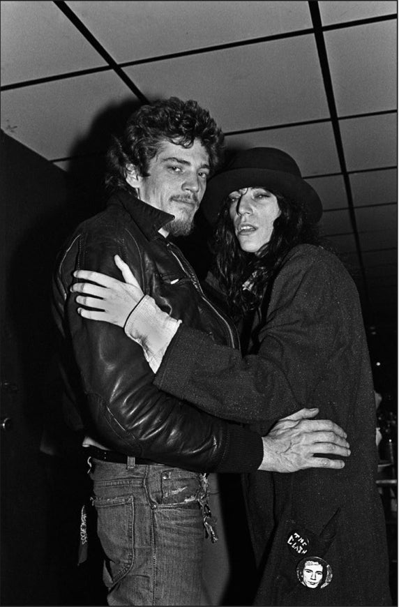 Patti Smith and Robert Mapplethorpe - (PS002AT)