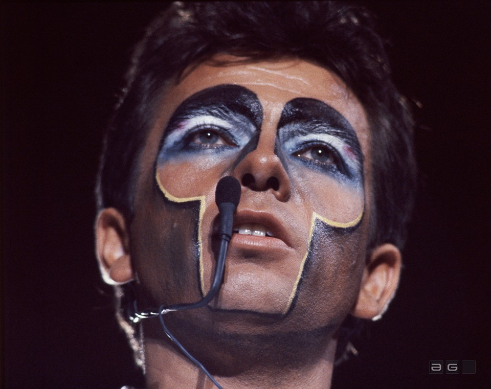 Peter Gabriel by Patrick Harbron