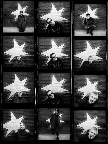 Radiohead Contact Sheet - (RD001DCL)
