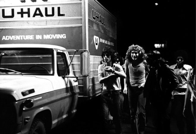Jeff Beck & Robert Plant by Neal Preston