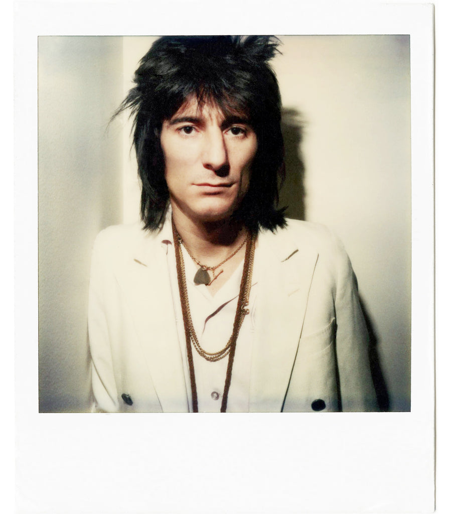 Ron Wood Polaroid by Brad Balfour