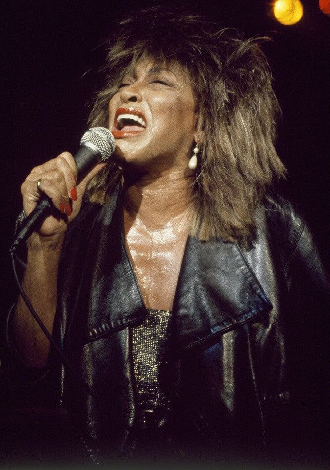 Tina Turner by Patrick Harbron