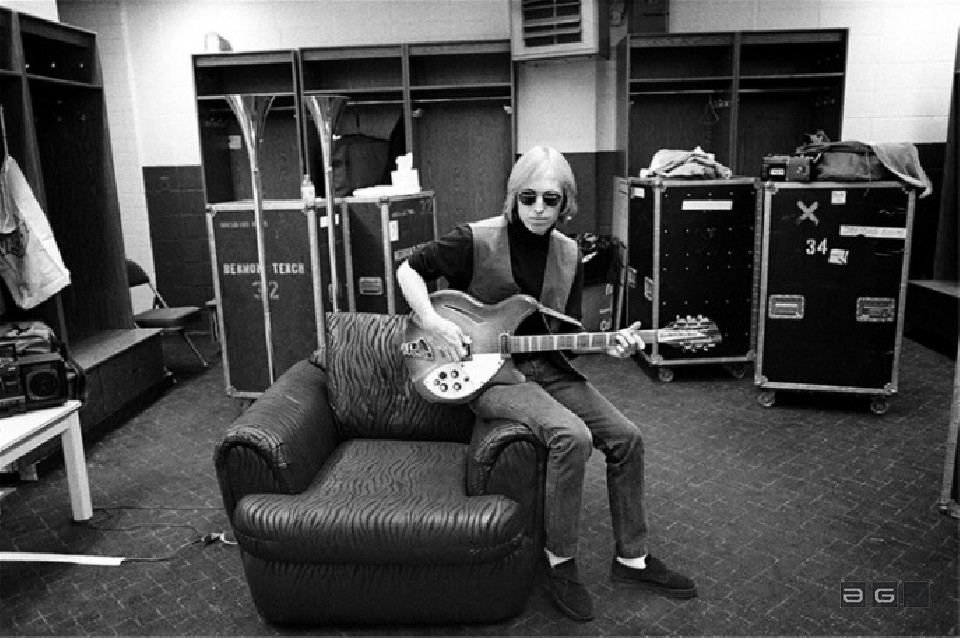 Tom Petty by by Ebet Roberts