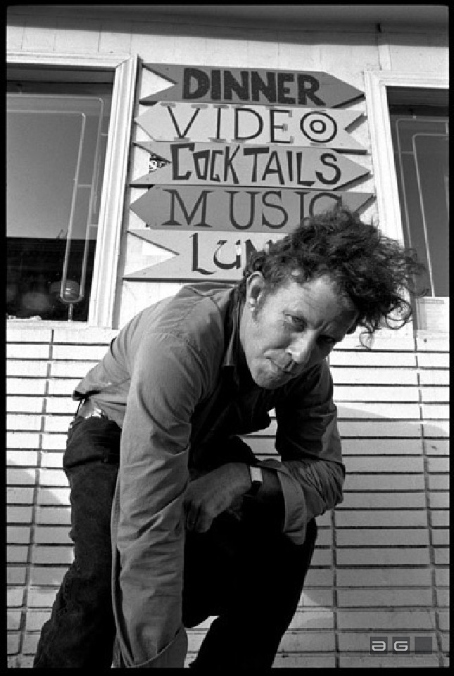 Tom Waits by Ed Sirrs