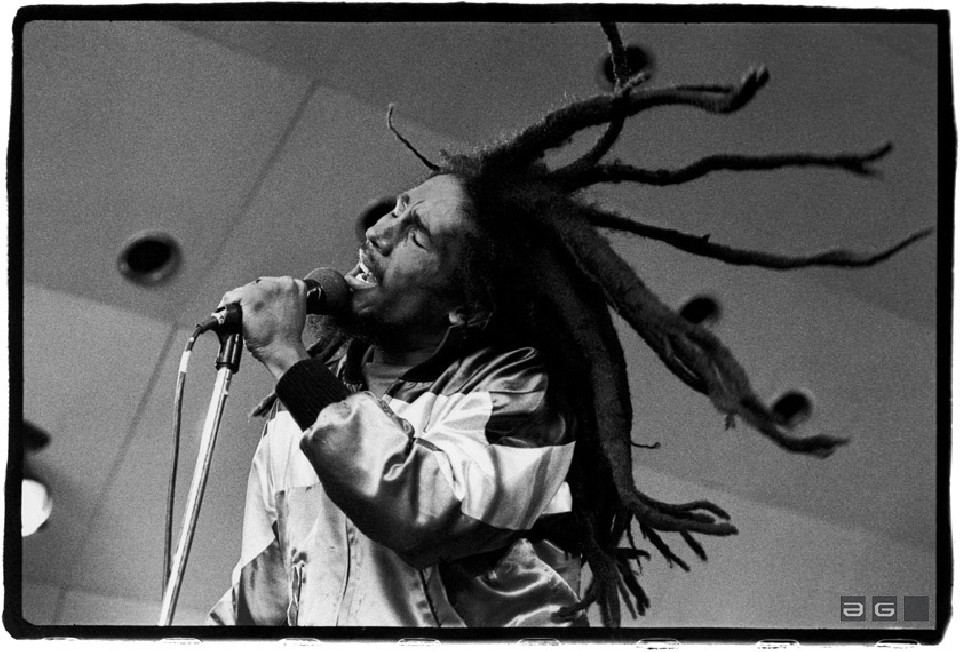 Bob Marley by David Corio