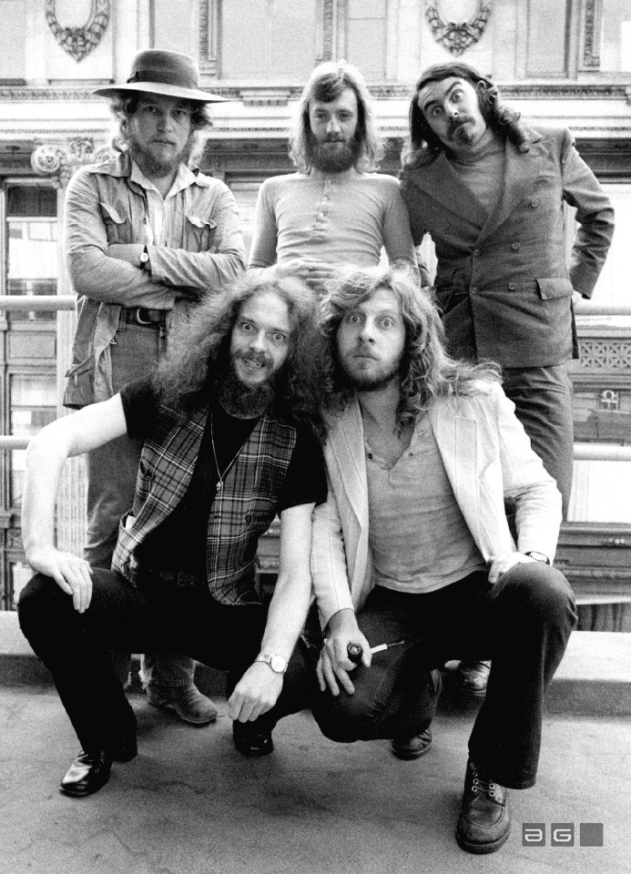 Jethro Tull by Barrie Wentzell