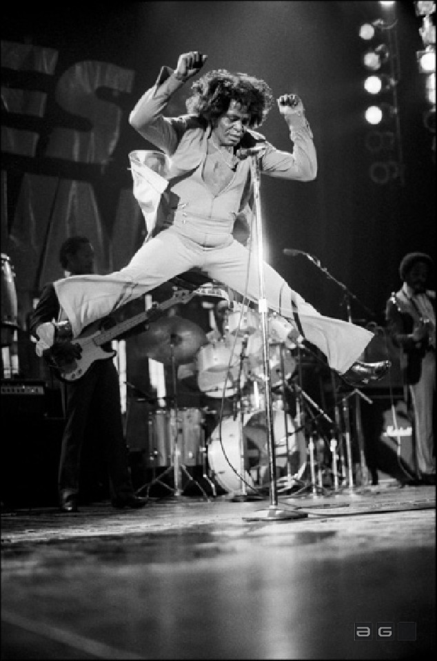 James Brown by David Corio