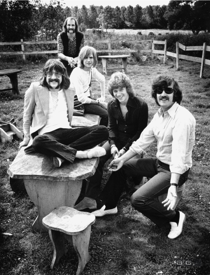 The Moody Blues by Barrie Wentzell